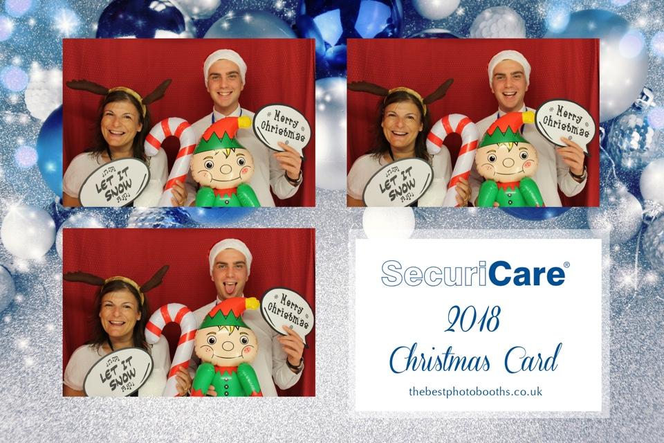 SecuriCare 2018 Christmas Card Photobooth   The Best Photobooths